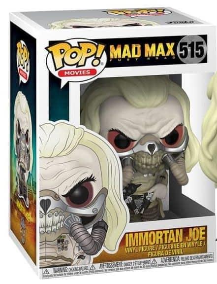 Vinyl Figure Mad Max Fury Road Immortan Joe Pop